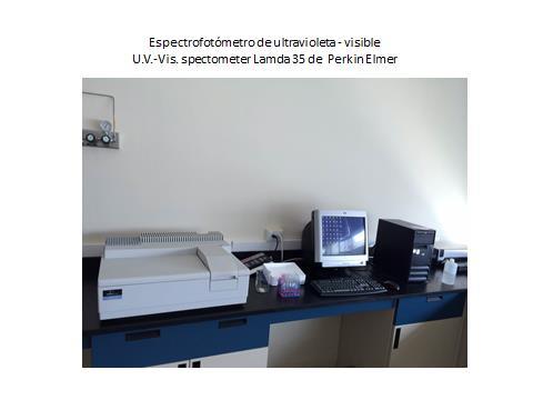 Espectrofotometro de Ultravioleta